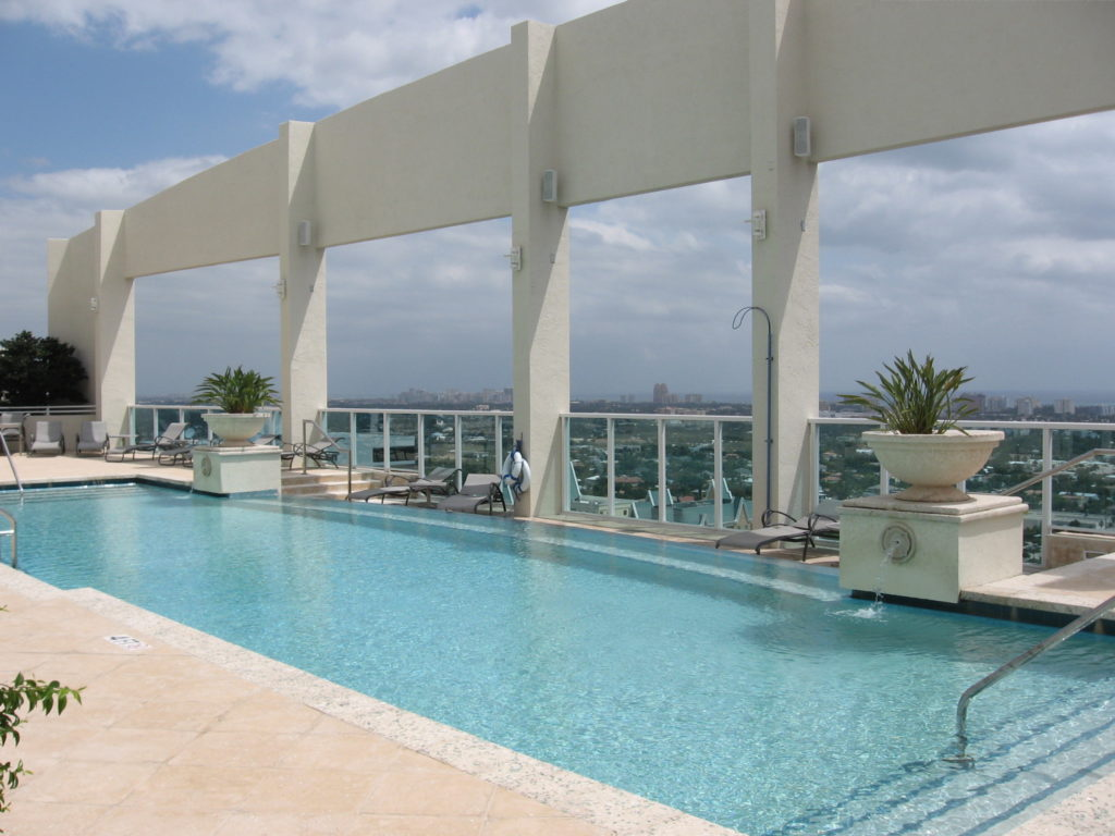 350 Las Olas Place Fort Lauderdale Pool Area