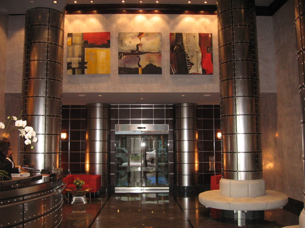 350 Las Olas Place Fort Lauderdale Lobby