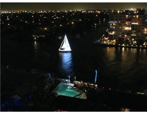 Tides at Bridgeside Square Condos - Night View