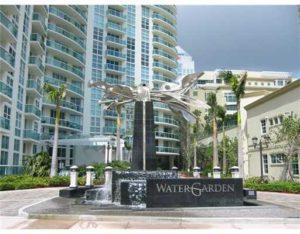 Watergarden Las OLas Fort Lauderdale Condos - Front Entrance