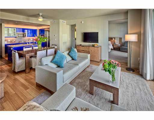 W Fort Lauderdale Condo Residences Living Area