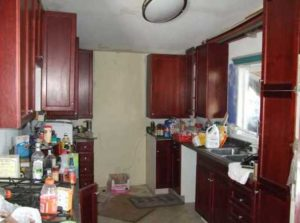 Bad MLS picture - Messy Kitchen