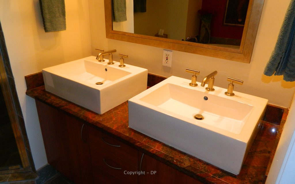Wilton Station Condos For Sale - Pacific 406 - Master Bath Sinks