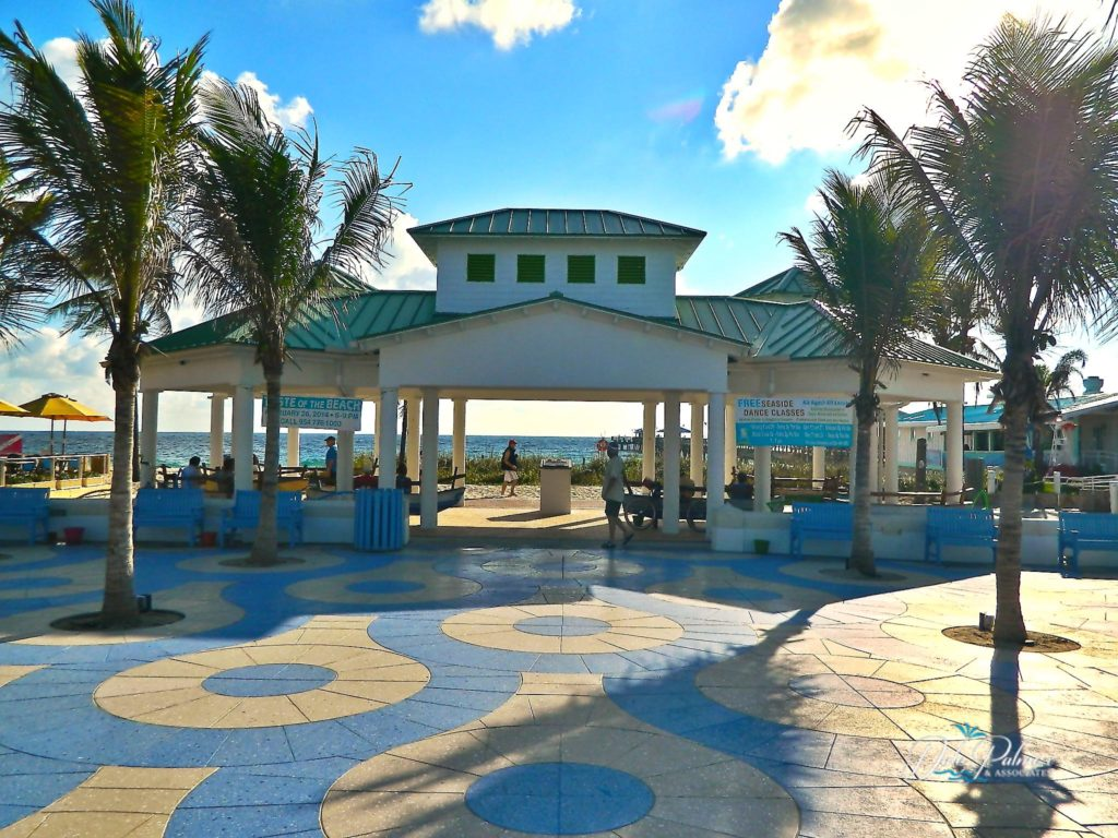Lauderdale by the Sea Real Estate - Beach Courtyard