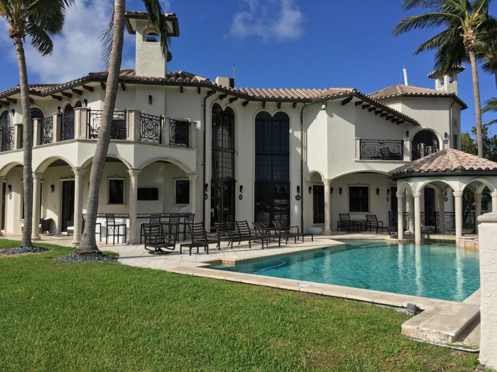 Fort Lauderdale Waterfront Home - Rear of Home