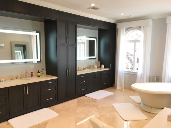 Fort Lauderdale Waterfront Home - Master Bath