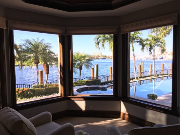 Fort Lauderdale Waterfront Homes - View from Master