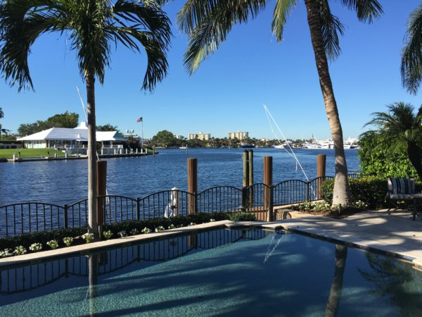 Fort Lauderdale Waterfront Homes - View with pool