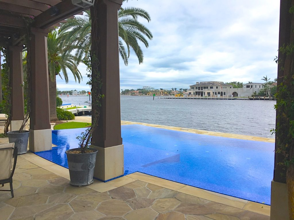 Fort Lauderdale Waterfront Homes - 615 Lido Drive - Pool - South