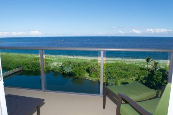 Pompano Beach Condo - Tiffany Gardens 706 Direct View