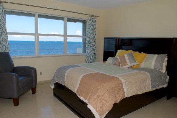 Pompano Beach Condo - Tiffany Gardens 706 Master Bedroom
