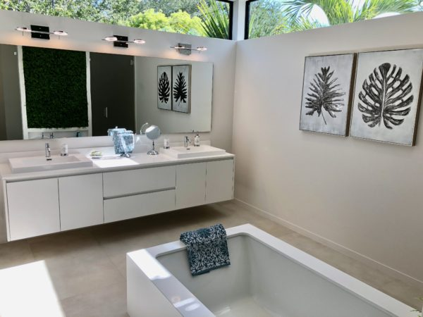 Fort Lauderdale Home - 1600 NE 6th Street - Master Bath