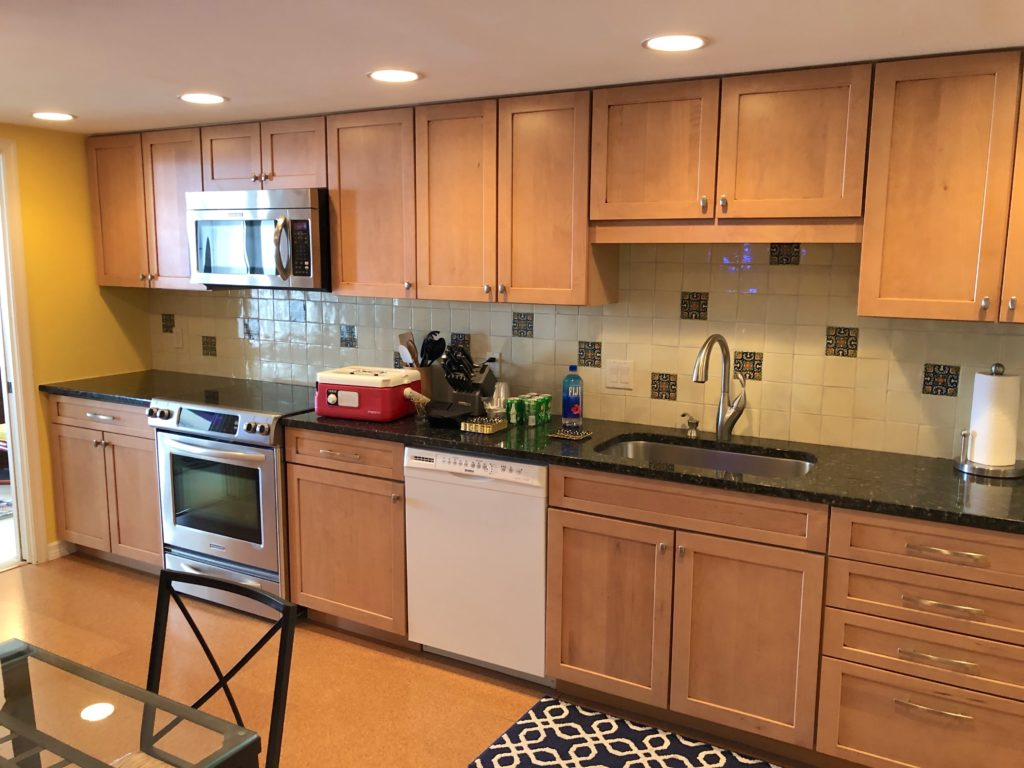 Point of Americas - Unit 805 Kitchen