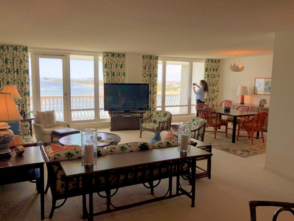Point of Americas - Unit 805 Living Room