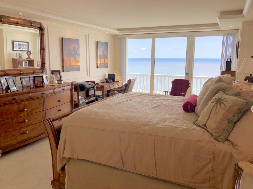 Point of Americas - Unit 2302 Master Bedroom