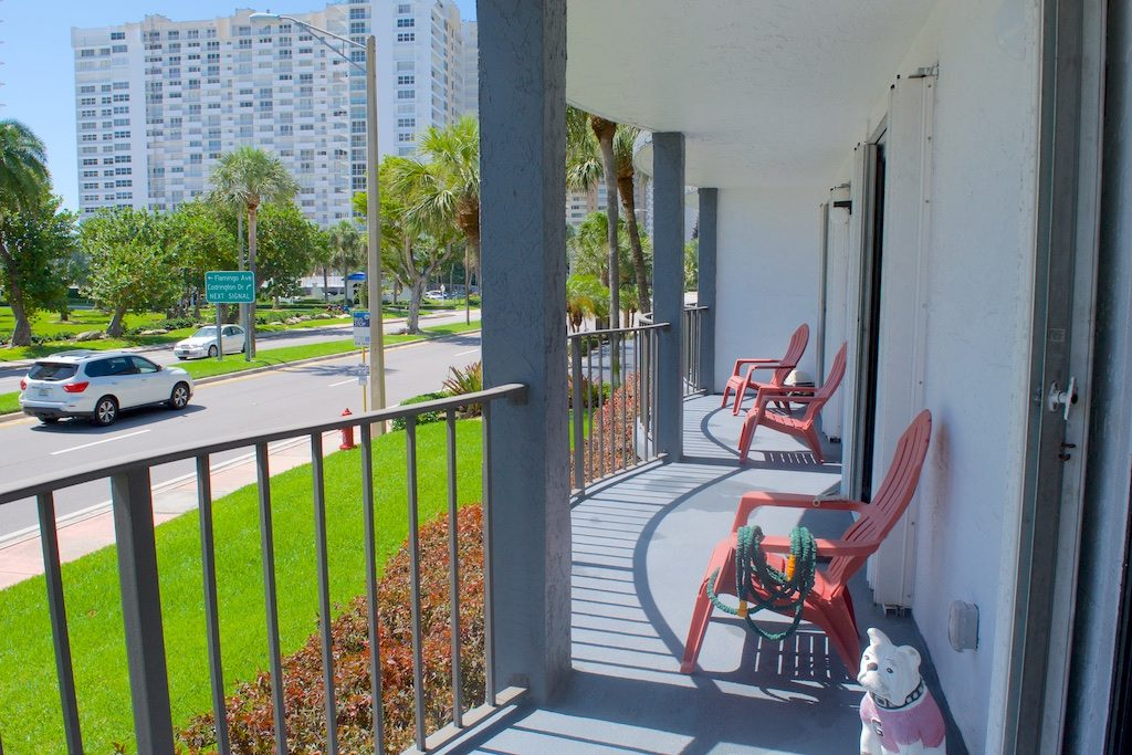 Lauderdale by the Sea Condos - Top of the Mile 114 Balcony