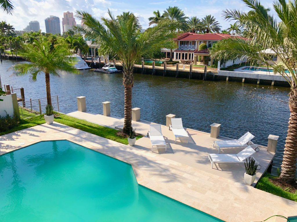 Fort Lauderdale Waterfront Luxury Home - Second Floor View