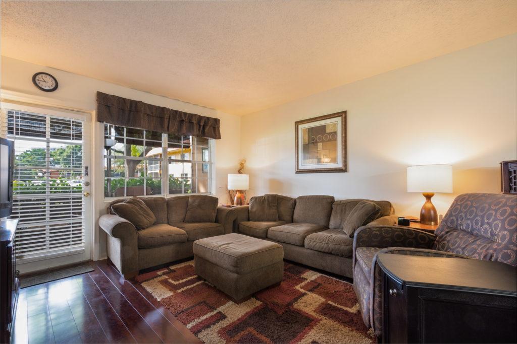 Manor Grove Condos - Living Room