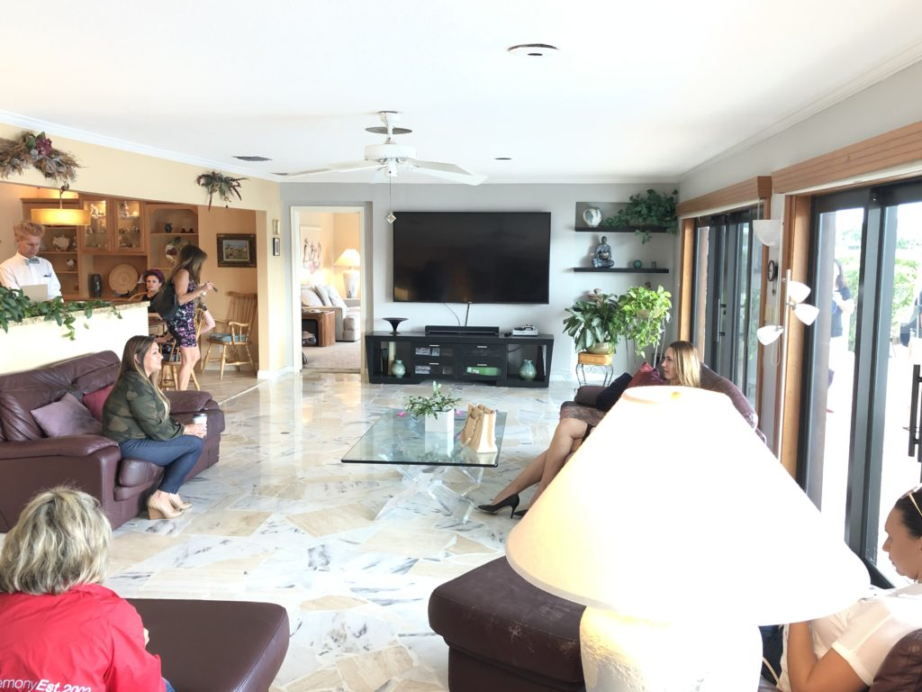 Fort Lauderdale Waterfront Home - Family Room