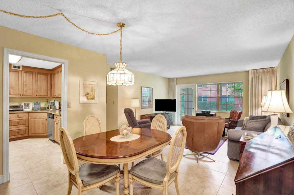 Manor Grove Condos - 106M Living Room