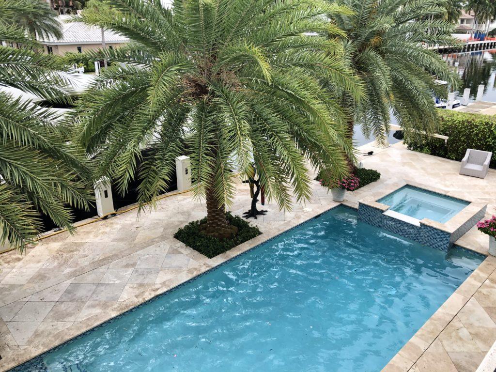 156 Fiesta Way - Pool from 2nd floor