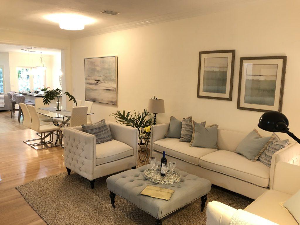 Fort Lauderdale Luxury Home - 816 N Rio Vista Blvd - Living Room